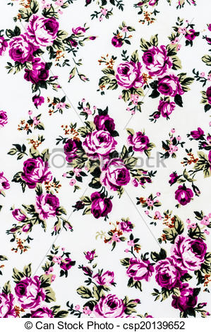 Stock Illustrations of Purple Rose Fabric background, Fragment of.