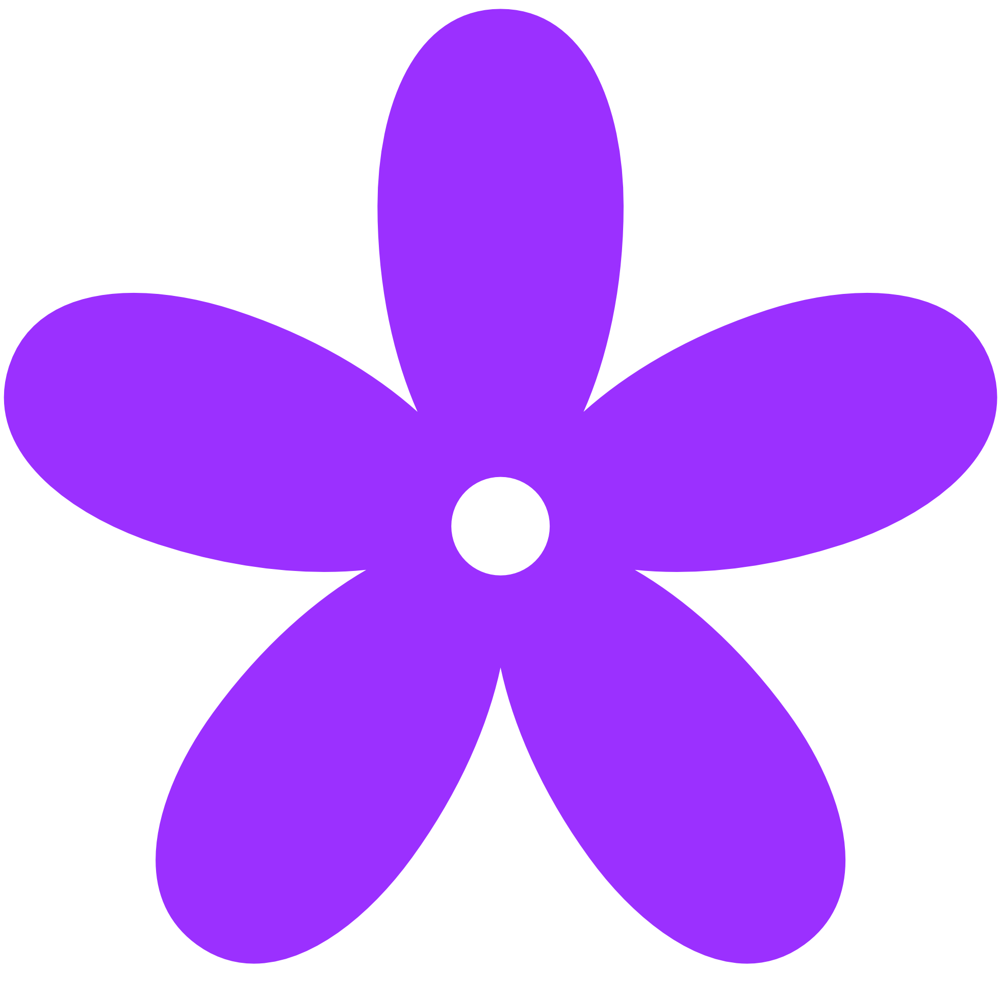 Retro Flower Clipart.