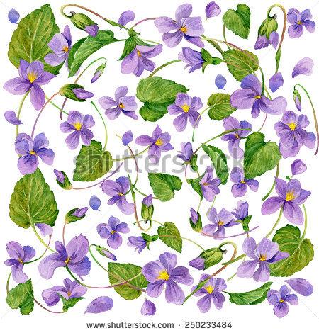 Collection « FLOWER background watercolor » de Faenkova Elena sur.