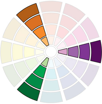 Triadic Colour Palette.