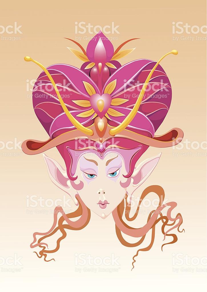 Female Elf stock vector art 164322966.