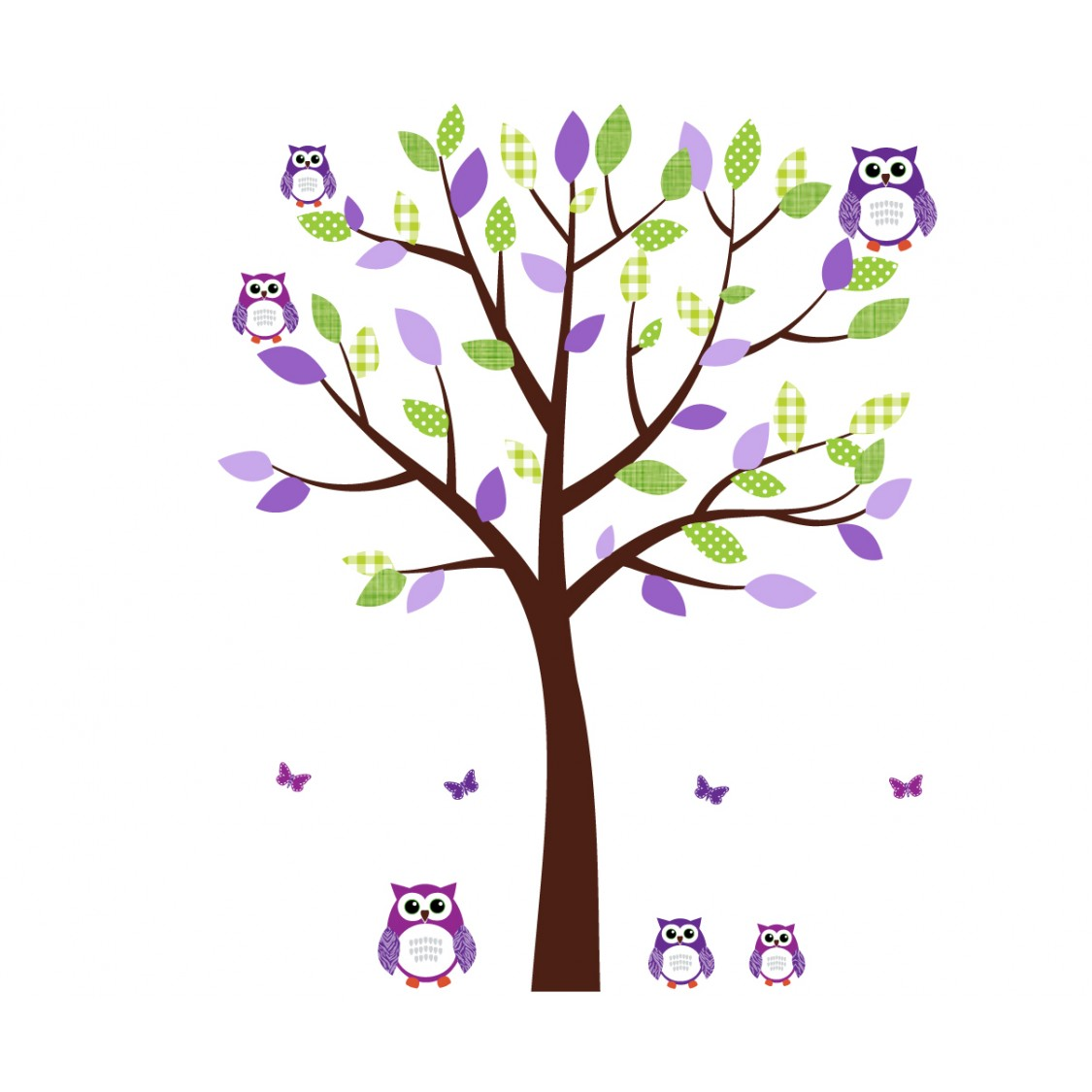 Green and purple clipart.