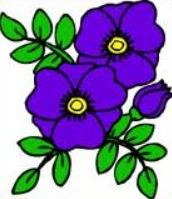 Free Violet Clipart.