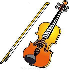 Violin Clipart.
