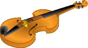 Brown Violin clip art Free Vector / 4Vector.