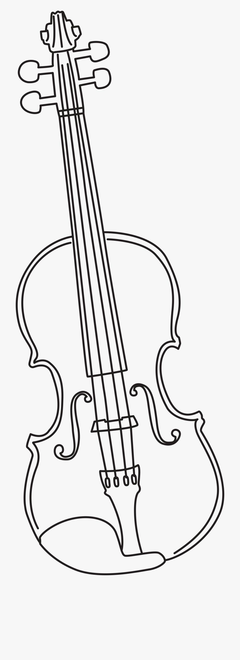 Violin Drawing.