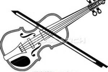 Violin Drawing Clip Art.