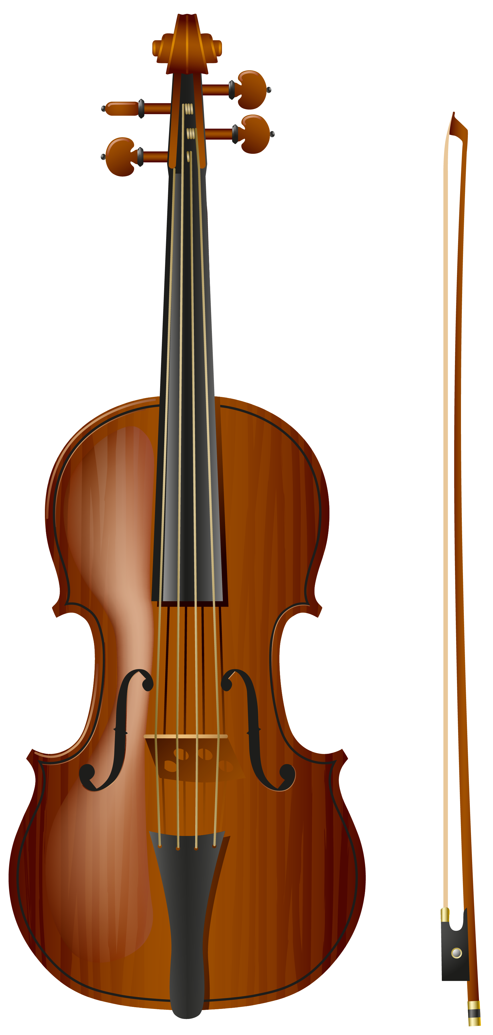 Violin PNG Picture.