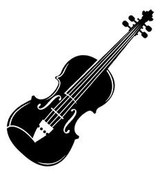 Violin Silhouette.