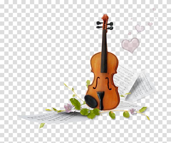 Violin and musical sheets illustration, Musical instrument.