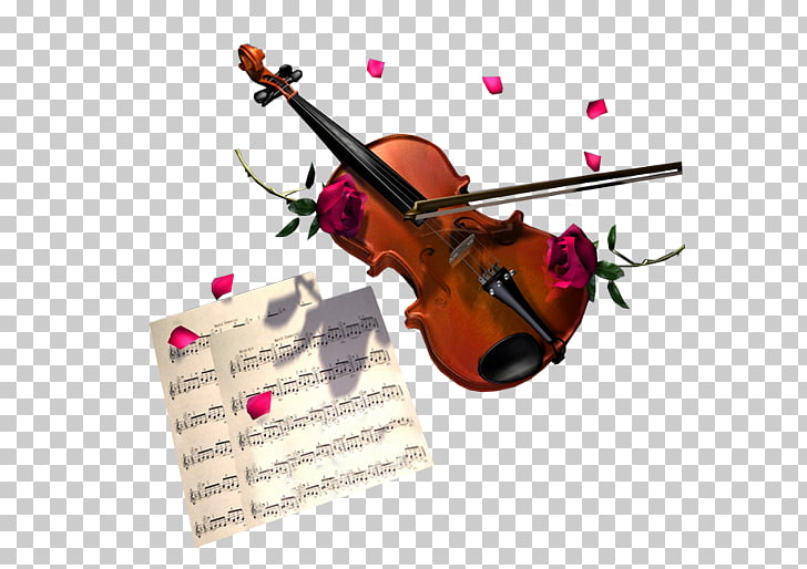 Violin Musical instrument Animation, Violin sheet music.
