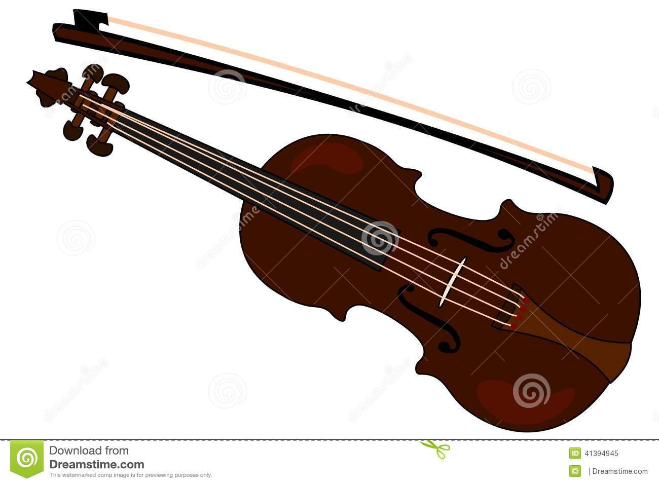 Violin Bow Clipart.