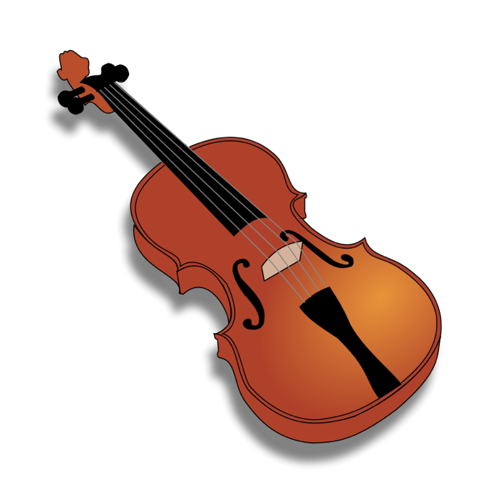 Clipart of Cellos, Violins and Other String Instruments.