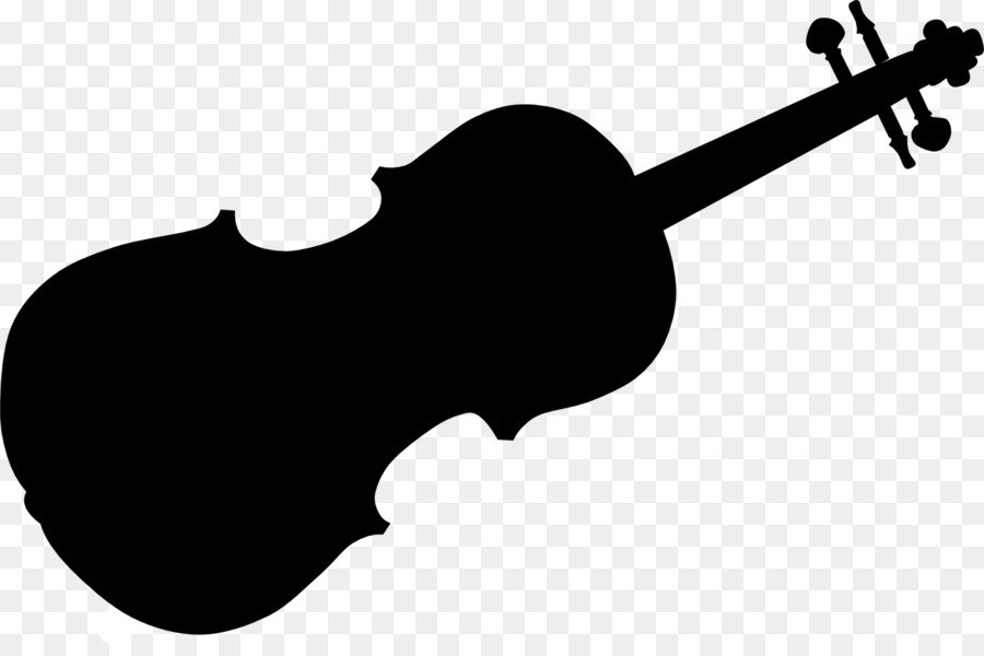 Violin Cartoon clipart.