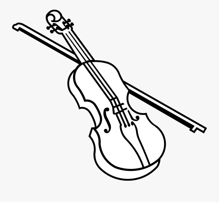 Transparent Fiddle Clipart.
