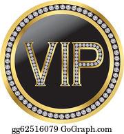 Royalty Free Vip Clip Art.