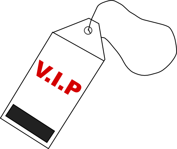 Vip Tag Clip Art at Clker.com.