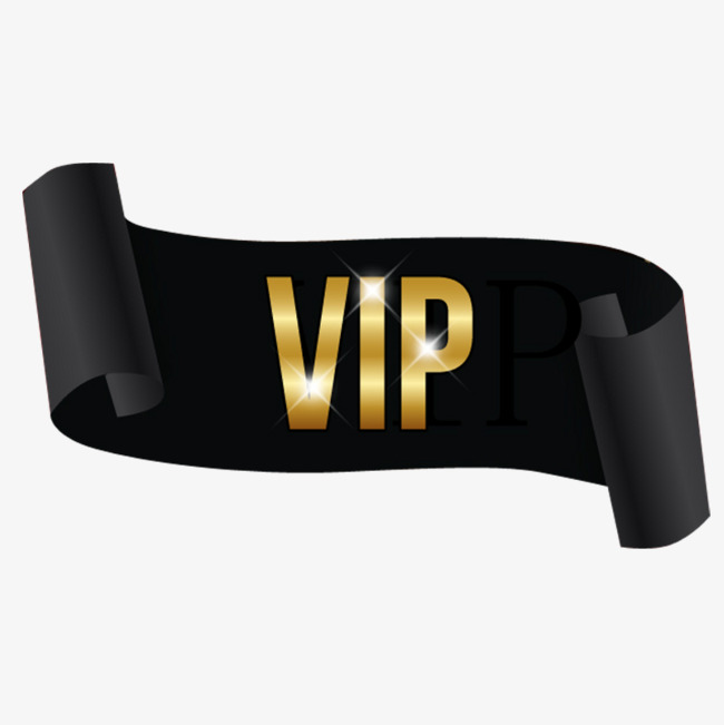 Gold Vip PNG Images.