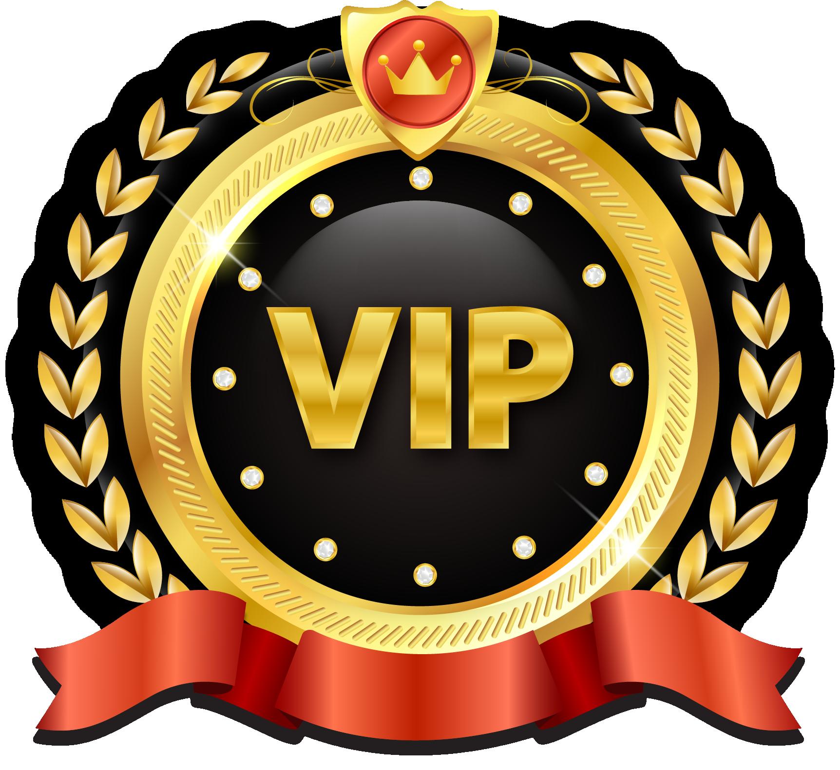 VIP PNG Transparent Image.