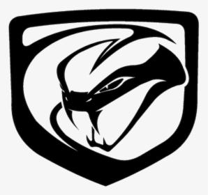 Viper Snake Emblem Logo Patterned Image.