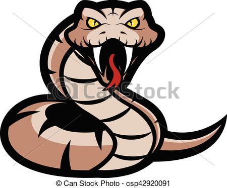 Viper snake mascot.