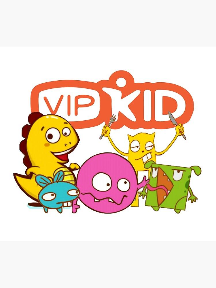 VIPKID Monster Dino Mascot.