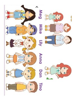 Vipkid Characters Worksheets & Teaching Resources.