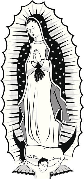 Best Virgin Of Guadalupe Illustrations, Royalty.