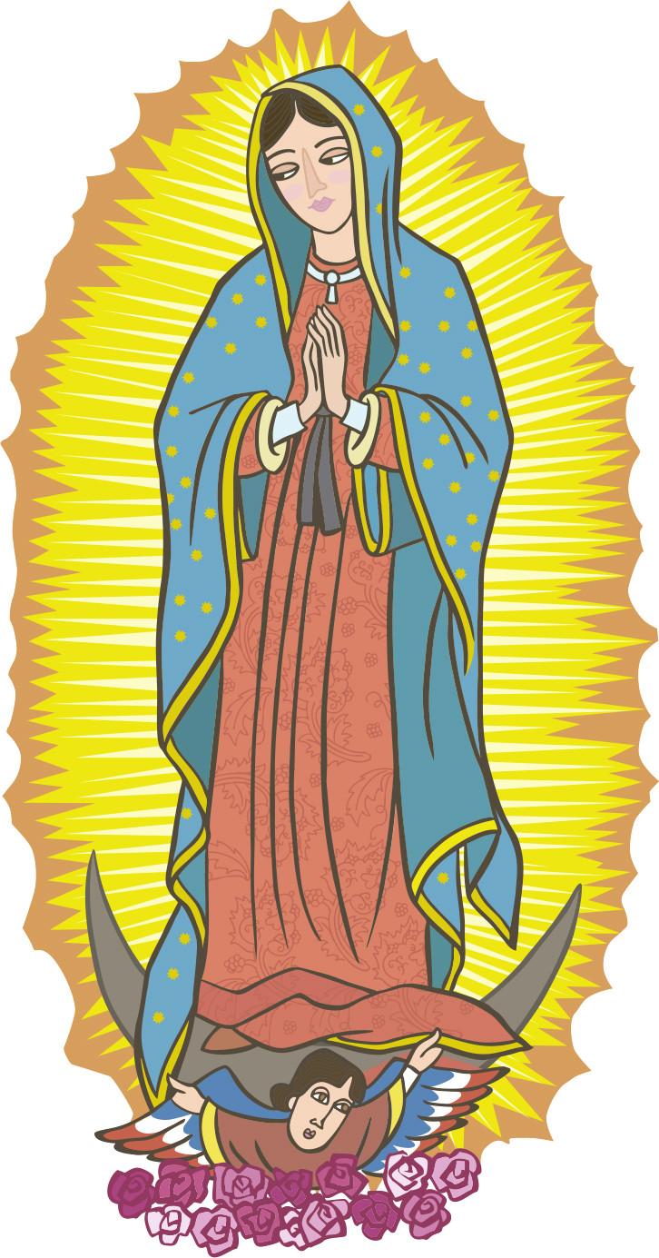 Virgen de guadalupe clipart 4 » Clipart Station.