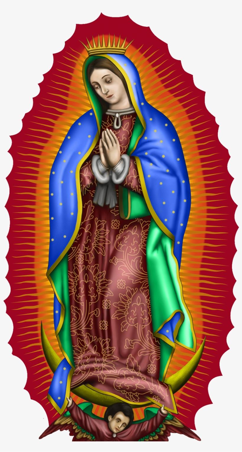 Color Virgen De Guadalupe Transparent PNG.