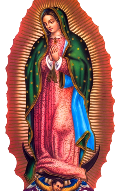Virgen Guadalupe Png Vector, Clipart, PSD.