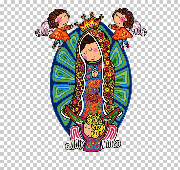 Our Lady of Guadalupe Drawing Painting Our Lady of Luján.