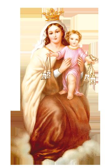 Virgen Del Carmen Png Vector, Clipart, PSD.