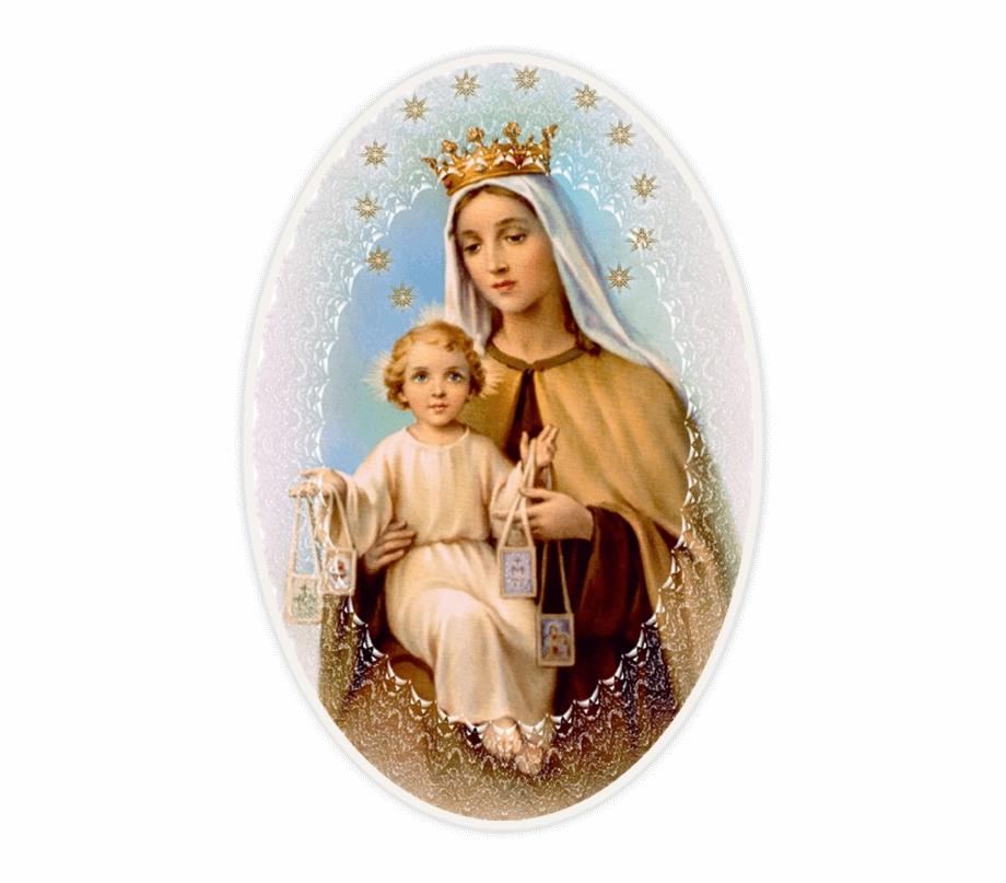 Oración A La Virgen Del Carmen Corta.