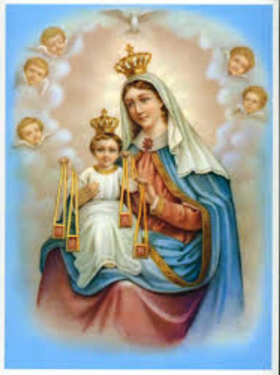 Virgen del carmen png 3 » PNG Image.