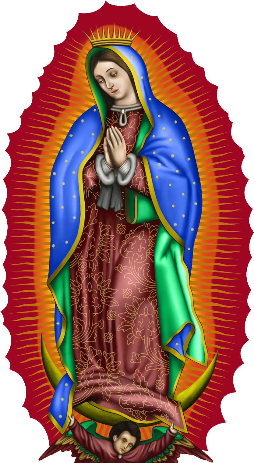 HD Virgen De Guadalupe Phone Case Transparent PNG Image Download.