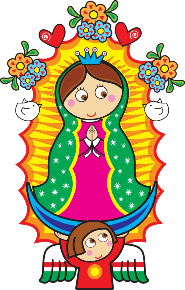 Distroller Virgencita Vector by zentryofchrist1.