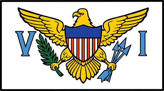 Us Virgin Islands Flag Clip Art, Vector Images & Illustrations.