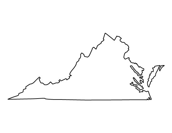 Virginia clipart outline cliparts suggest jpg.