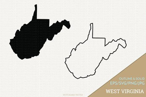 West Virginia Vector State Clipart WV Clip Art West.