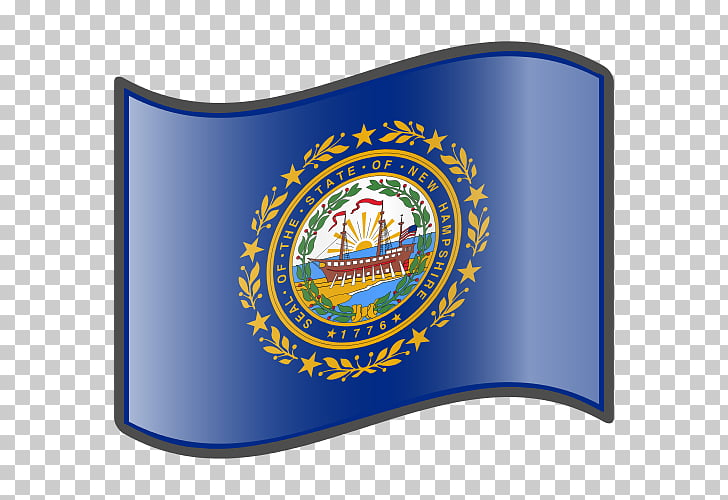 Flag and seal of New Hampshire Virginia State flag, Flag PNG.