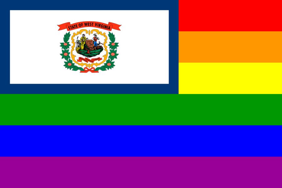 Rainbow Flag clipart.