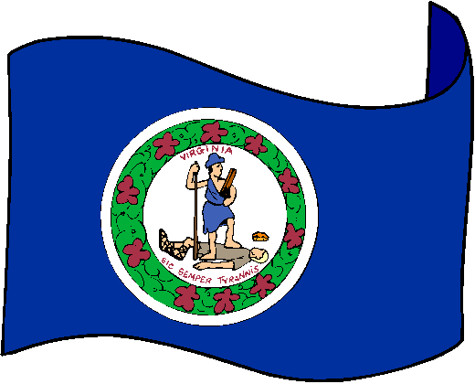 Pictures of Virginia Flag.