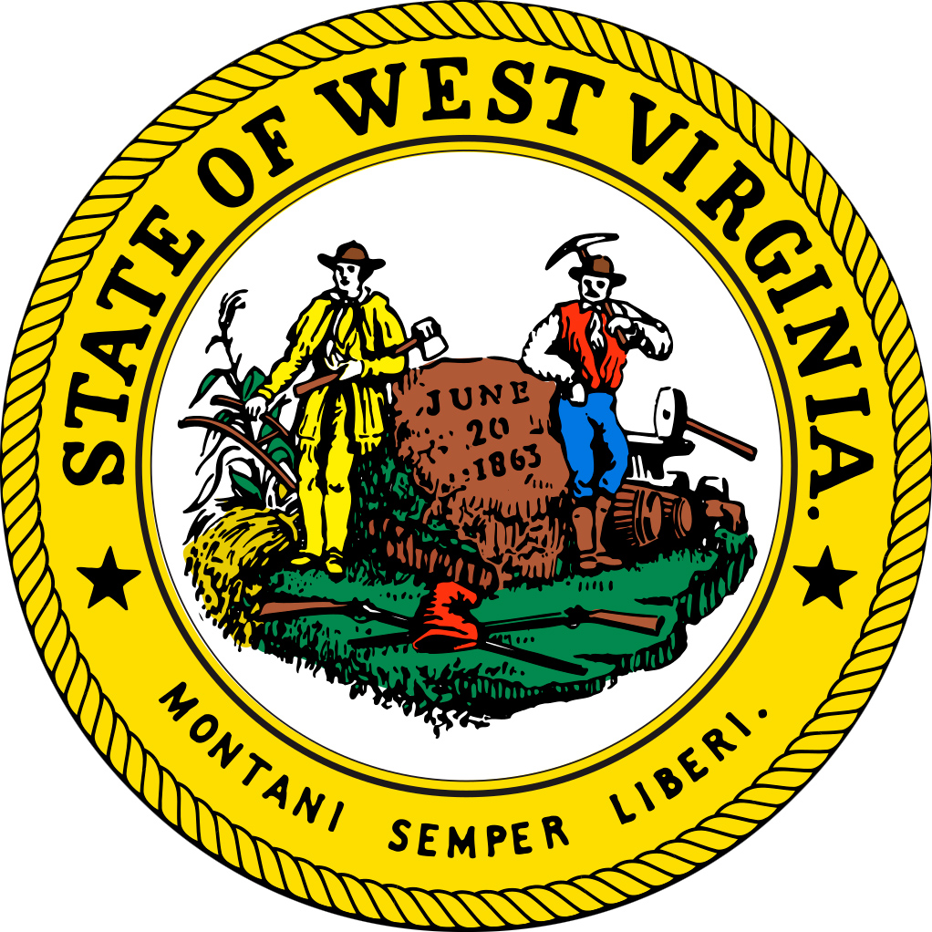 West Virginia State Seal.