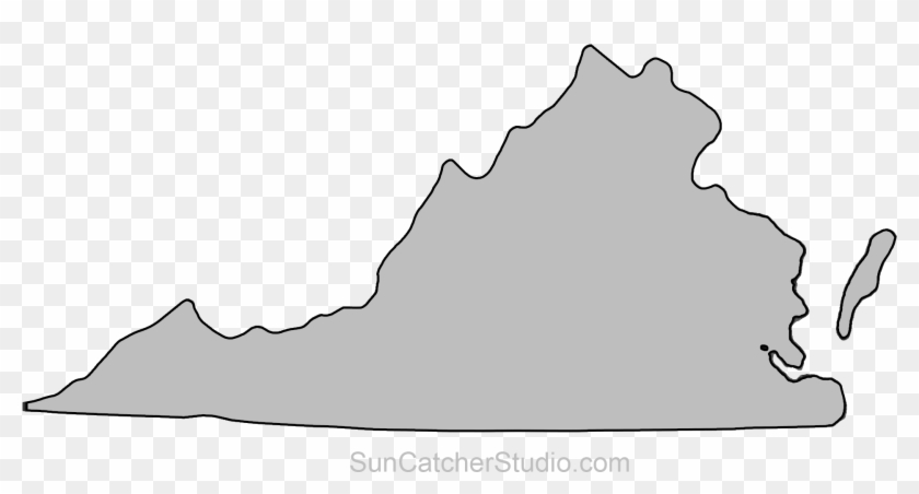 Virginia Outline Png.