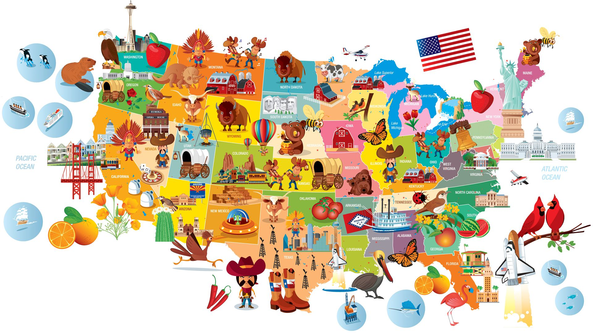 Do You Know the Nicknames of All 50 US States?.