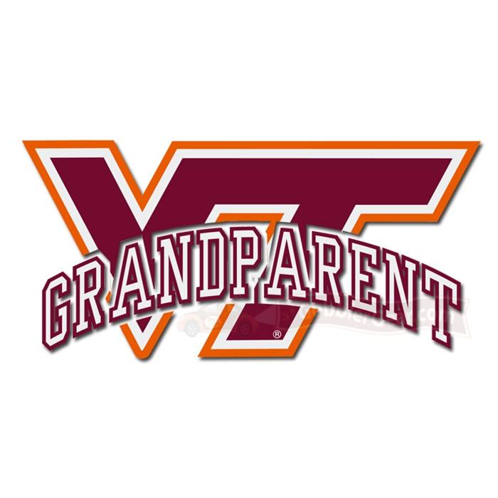 Virginia Tech VT Vehicle Decals ~ Gobbler Merchandise for the.