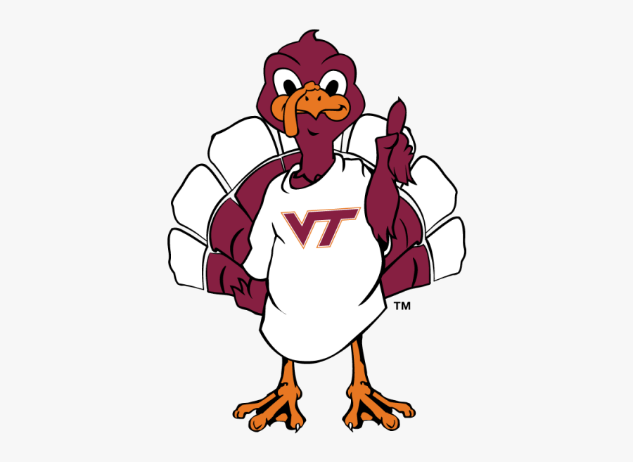 Virginia Tech Hokie Bird , Free Transparent Clipart.