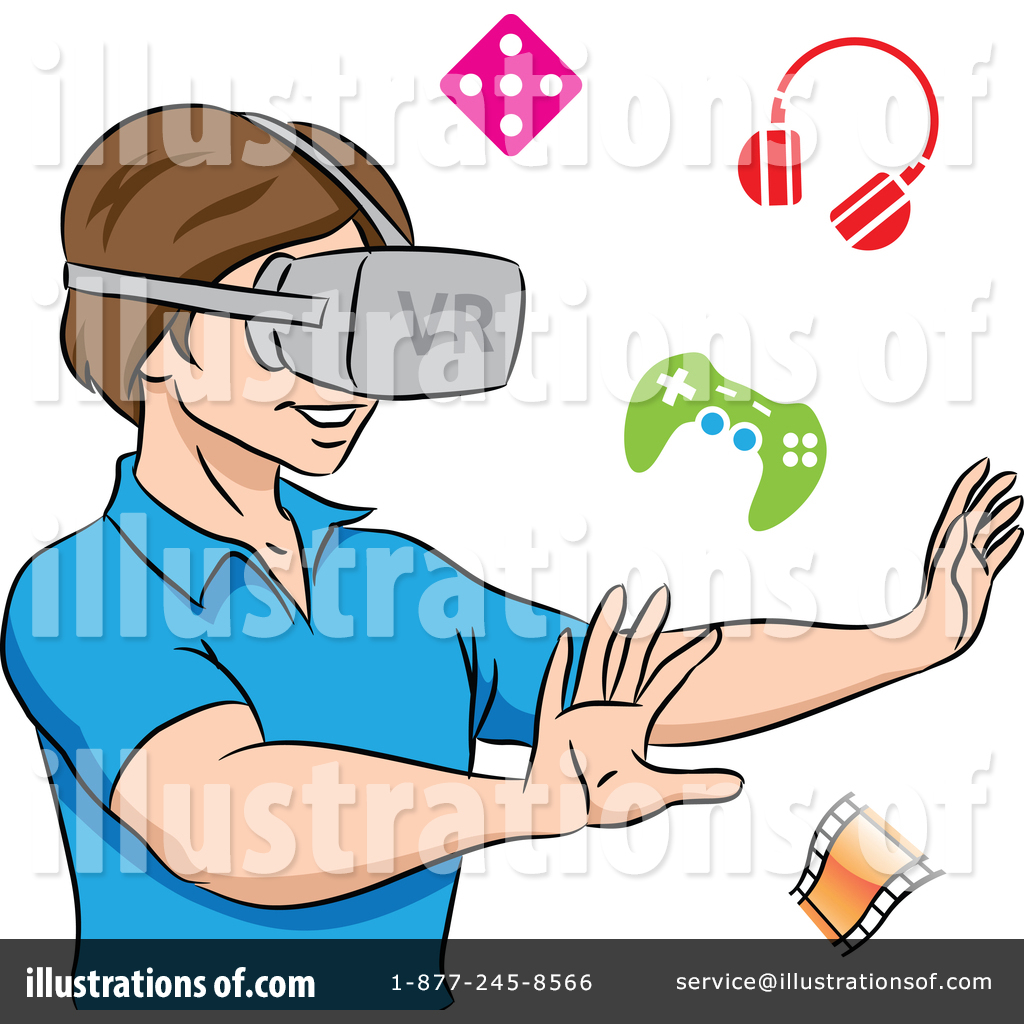 Virtual Reality Clipart #1389097.