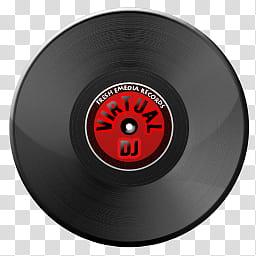 Virtual DJ Icon, icon virtualdj transparent background PNG.